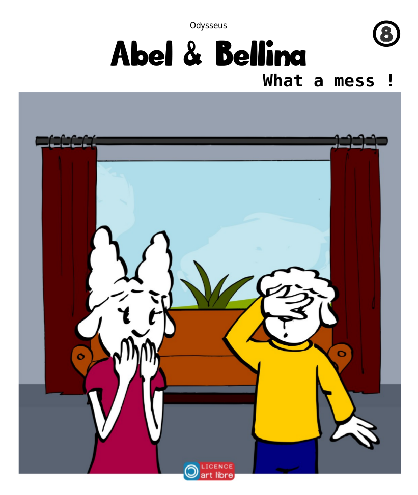 Abel & Bellina – What a mess !
