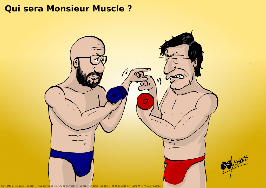 Qui sera Monsieur Muscle ?
